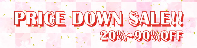 20%~90% PRICE DOWN